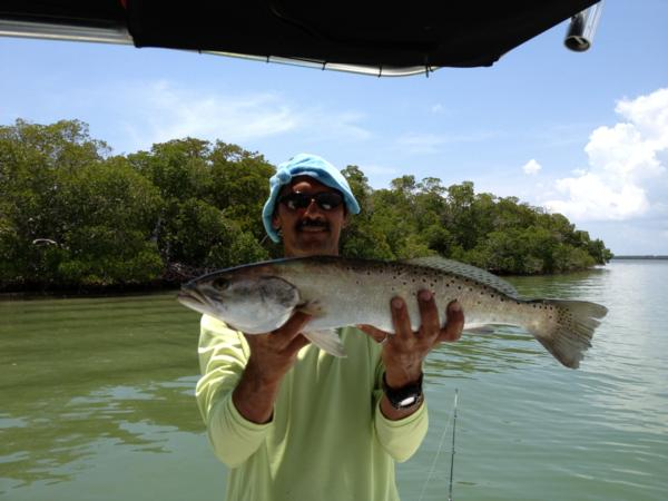 Clients trophy fish florida fishing guide for Charter fishing marco island